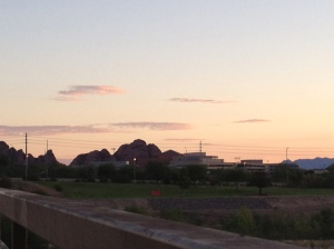 Papago Park at Sunrise