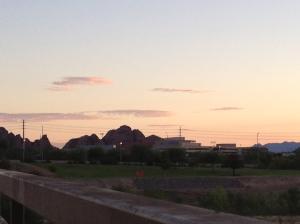 Papago Park at Sunrise